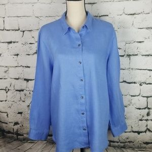 J. Jill 'Love Linen' Top Large